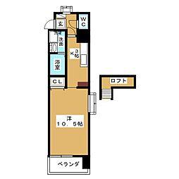 グリム覚王山[4階]の間取り