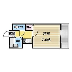 オーナーズマンション菱屋[4階]の間取り