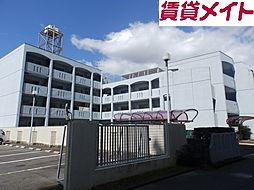 三重県鈴鹿市平田2丁目の賃貸マンションの外観