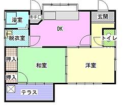 [一戸建] 神奈川県南足柄市塚原 の賃貸【/】の間取り