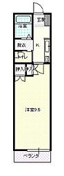 JR山形新幹線 山形駅 バス10分 遊学館前下車 徒歩2分の賃貸マンション 4階1Kの間取り