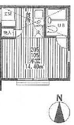 パレス保土ヶ谷3[1階]の間取り