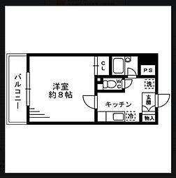 ソナーレ湘南台[305号室]の間取り