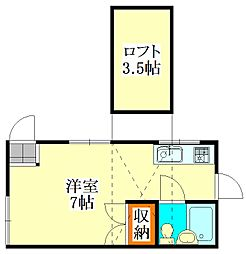PEGハウス[1階]の間取り
