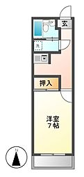TO-BE[7階]の間取り