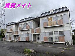 三重県四日市市南坂部町の賃貸アパートの外観