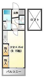 フォレステージュ江坂垂水町[13階]の間取り