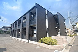 大阪府藤井寺市大井5の賃貸アパートの外観