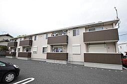 群馬県高崎市八千代町2の賃貸アパートの外観