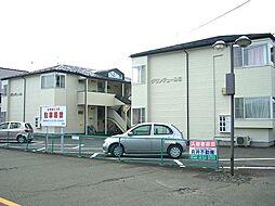 岩手県盛岡市北夕顔瀬町の賃貸アパートの外観