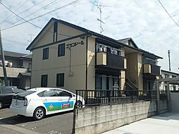 群馬県太田市台之郷町の賃貸アパートの外観