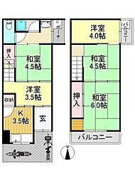 喜連瓜破駅 6.3万円