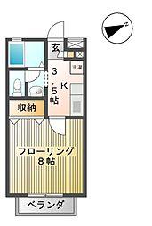 プリメーロ[2階]の間取り