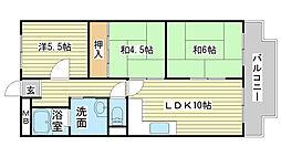 シャトー司[D-3号室]の間取り