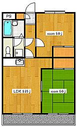 富志正第五ビル[403号室号室]の間取り