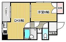 ハーバーウエスト神戸[5階]の間取り