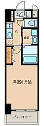 エントピア桜山[6階]の間取り