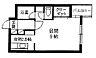 間取り,1K,面積28.53m2,賃料4.1万円,札幌市営東西線 琴似駅 徒歩2分,,北海道札幌市西区琴似一条3丁目1-29