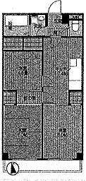 ラフォーレディテ[3階]の間取り
