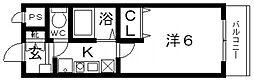 Rinon恵我ノ荘(リノン恵我ノ荘)[306号室号室]の間取り