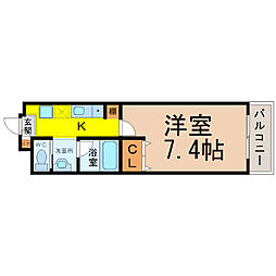 A City守山小幡[4階]の間取り