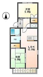 フレマリールKs[1階]の間取り