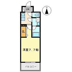 エクセルコート昭和南通プライムレジデンス[6階]の間取り