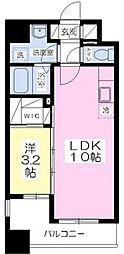 ラフレシーサ博多駅南[6階]の間取り
