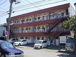 千葉県市川市南八幡2の賃貸マンションの外観