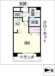 JIN[4階]の間取り
