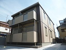 大阪府羽曳野市白鳥3丁目の賃貸アパートの外観