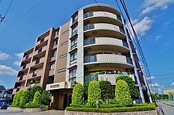 埼玉県越谷市東越谷10丁目の賃貸マンションの外観