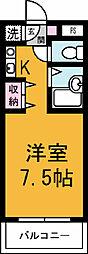 茨城県つくば市桜3の賃貸マンションの間取り