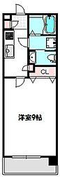 リッツスクエア グランキューブ[5階]の間取り