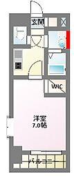 エスプレイス新大阪サウスゲート[6階]の間取り