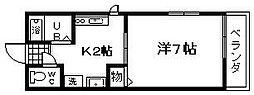 コートデール[2階]の間取り