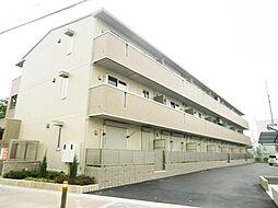 大阪府大阪市東住吉区公園南矢田4丁目の賃貸アパートの外観