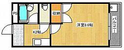 坂川ビル[1階]の間取り