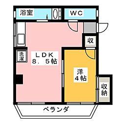 HP honjin Bld.[2階]の間取り