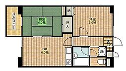カピトール川崎I[1階]の間取り