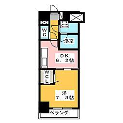 MY COSMOS[7階]の間取り