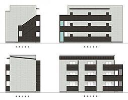新築デザイナーズ Feliz III(フェリススリー)[103号室]の外観