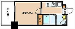 サヴォイザセントラルガーデン[13階]の間取り