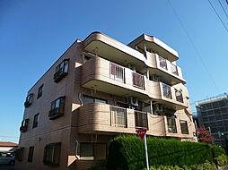 東京都東村山市久米川町2丁目の賃貸マンションの外観