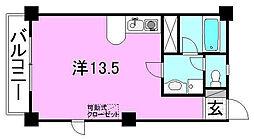 ベルハイム38[503 号室号室]の間取り