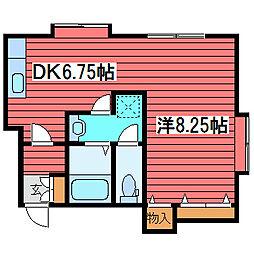 パーク18ビル[3階]の間取り
