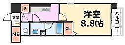 グランシャリオ[407号室号室]の間取り