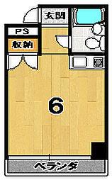 GRAND VALUE 西陣[402号室]の間取り