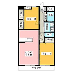 SAIA21[2階]の間取り