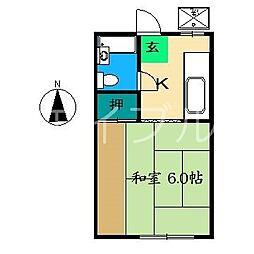 恵マンション[2階]の間取り